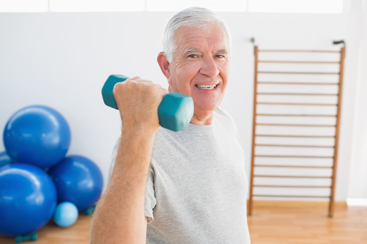 Strength Training. Too Old? It's Never Too Late To Begin!