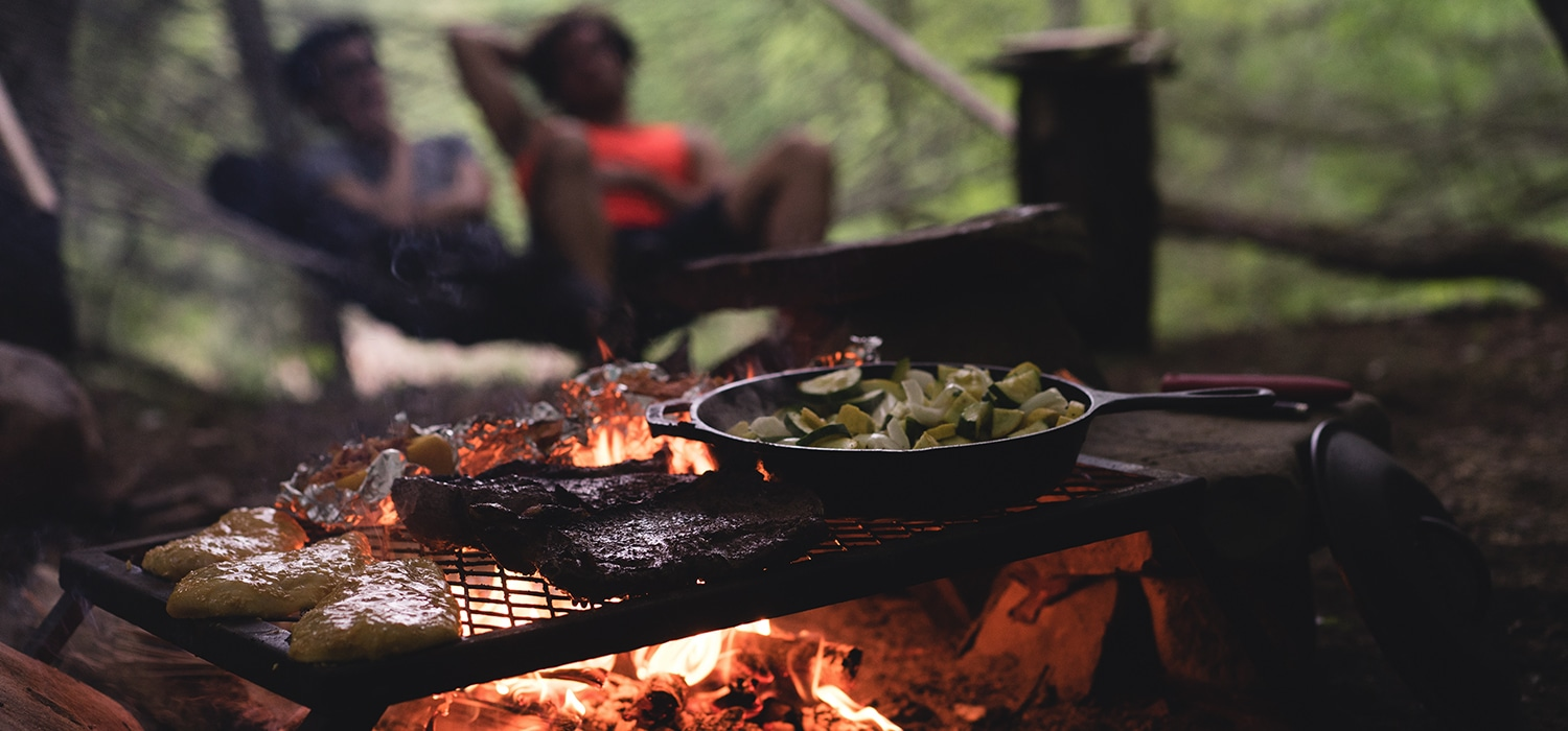 How to Eat Healthy During Your Camping Trip